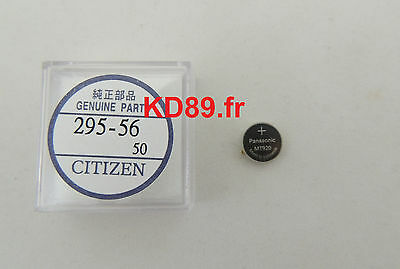 Citizen Skyhawk Blue Angels eco drive Capacitor Battery Panasonic 295-5600 NEW
