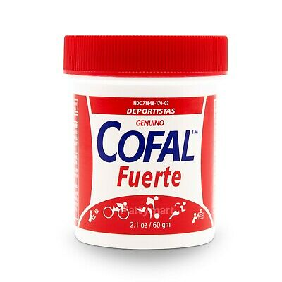 Cofal Fuerte Genuino Para Dolor 2.1 Oz - For Muscular Pain, Arthritis, Back Pain