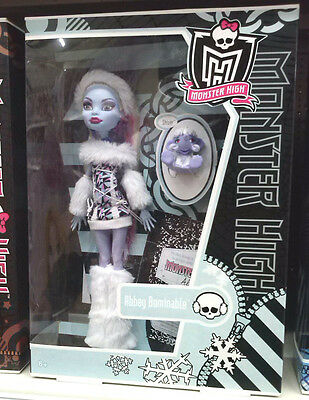 Monster High AWESOME 1st  Wave  Abbey Bominable Doll - Brand new FREE SHIPPING