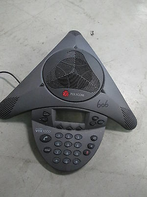 Polycom Soundstation VTX 1000 Wideband Conference Phone Speakerphone - EXCL PSU