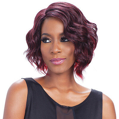 Freetress Equal Synthetic Hair Lace Deep Invisible L Part Lace Front Wig - SAMMI
