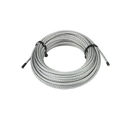 "3/16"" x 50 ft. 3960 lb. Galvanized Wire Rope Aircraft Cable"