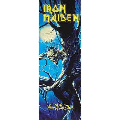 "IRON MAIDEN Fear Of The Dark DOOR Tapestry Cloth Poster Flag Wall Banner 21""x58"""