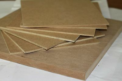 MDF Artist Painting Board 6mm.4 Pack Ready to Prime In a range of sizes A3 to A1