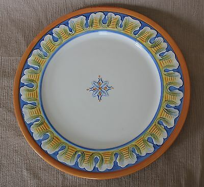 FITZ AND FLOYD - RICAMO AMORETTI - DINNER PLATE - DISCONTINUED