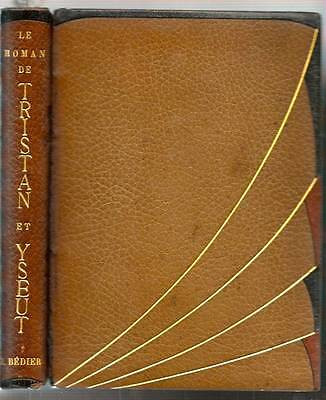 Tristan and Isolde Charles Bedier Fine Press Art Deco Binding Paris France 1934
