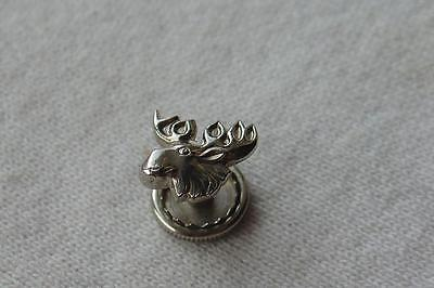 Vtg Sterling Pin Moose Lodge