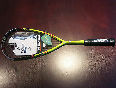 Head Graphene XT Cyano 120 - squash racquet - BRAND NEW 2016 MODEL!