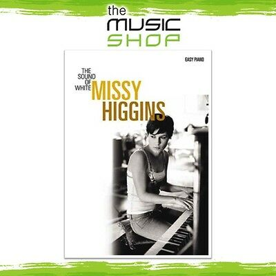 New Missy Higgins 'The Sound of White' Music Book for Easy Piano