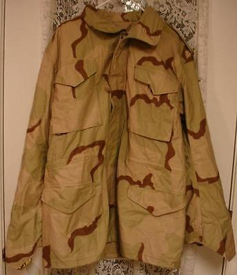 Coat Cold Weather Desert Camouflage Military Extra-Small/short Used $14.98