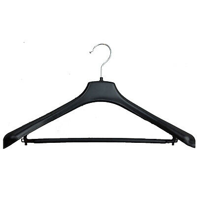 SUIT HANGER Jacket Pants Clothing Coat Non Slip Broad Shoulder Tube Holder New