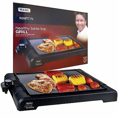 James Martin Wahl Home Non-Stick Table Top Kitchen Grill - ZX833