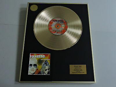 ROXETTE june afternoon - DISCO DE ORO - CD - GOLD DISC RECORD