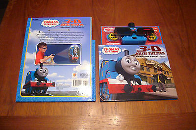 NEW THOMAS THE TANK & FRIENDS 3D Movie Theater Projector w Book 24 images