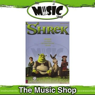New Shrek the Movie Soundtrack PVG Music Book - Piano Vocal Guitar