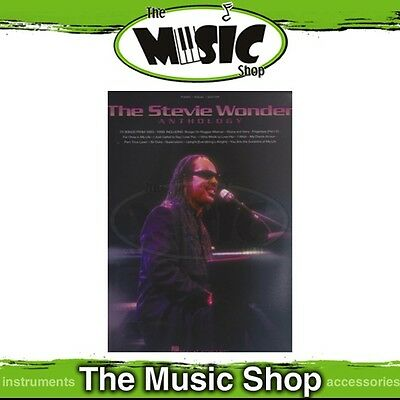 New The Stevie Wonder Anthology PVG Music Book - Piano Vocal Guitar