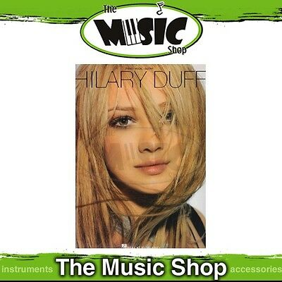 New Hilary Duff PVG Music Book - Piano Vocal Guitar