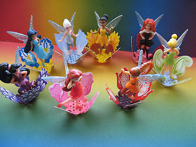 DISNEY  FAIRIES  complete set  + all papers KINDER  SURPRISE  EGG EUROPE