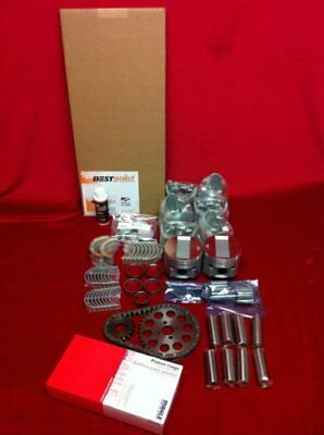 Buick 215 V8 Engine Kit 4BBL Pistons+MOLY Rings+Bearings+Gaskets+Timing+OP kit