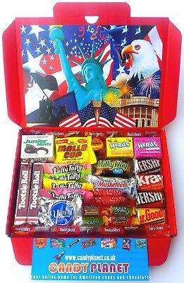 American Candy Sweets Hamper Reese's Chocolate Mini Kids Christmas Gift USA