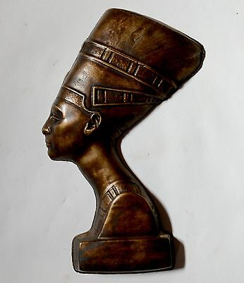 Nefertiti Ancient Egyptian Queen sculpture wall relief replica reproduction