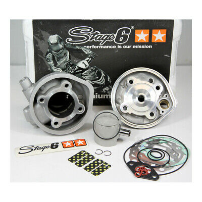 Cylinder Kit -  Stage6 Racing 70cc Minarelli Horizontal LC, PIn 12mm + 5 Seal Ba