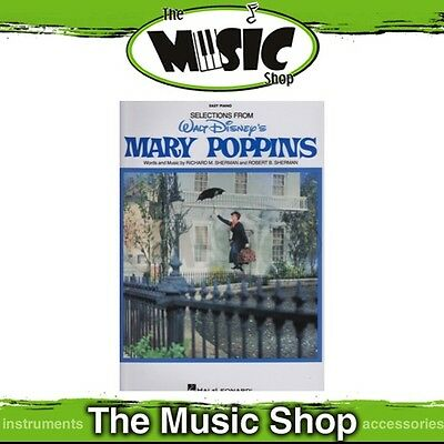 New Mary Poppins Movie Soundtrack Selections Music Book for Easy Piano