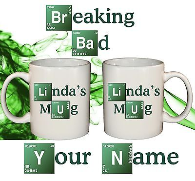 Breaking Bad Personalized Mug Your Name Text Gift Idea Grad Dad Fan Funny
