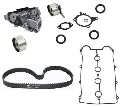 8-Piece oem Complete Timing Kit & Water Pump for Mazda Miata Belt Seals 90 to 93