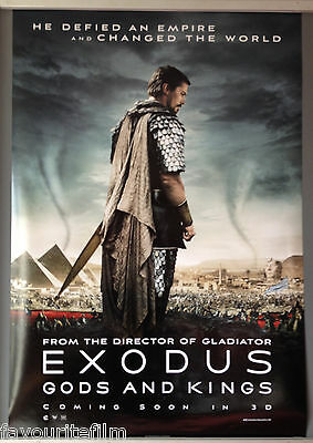 Cinema Poster: EXODUS GODS AND KINGS 2014 (Main One) Ridley Scott Christian Bale