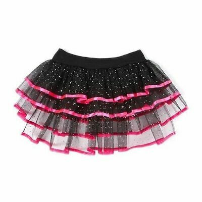 f408200acf Claires Junior Ladies Black and Pink SparkleTutu Skirt Ballerina Dance Class  M/L