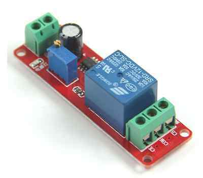 DC 12V Delay Timer Switch Adjustable Module 0 to 10 Second