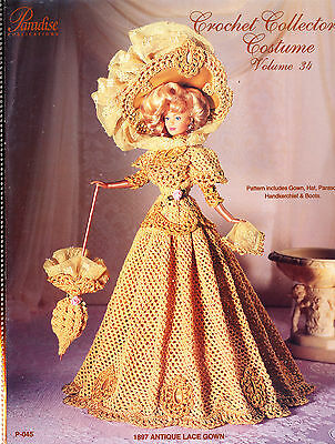 Paradise Crochet Collector Costume Pattern - Pick 1 Free S&h Can & Us Vol 34-55
