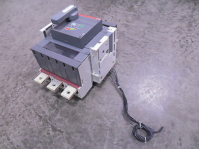 USED ABB S6H-D SACE S6 Molded Case Switch 800 Amps 600VAC