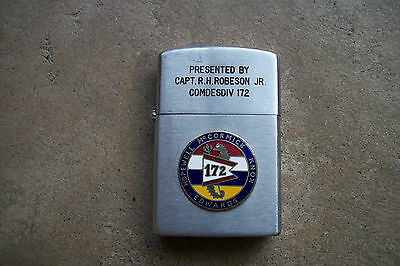 Vietnam  US Navy COMDESDIV Command Division 172 1960 Lighter