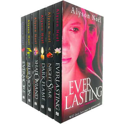 Alyson Noel The Immortals Series Collection 6 Books Set, Everlasting, Brand New
