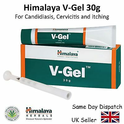 HIMALAYA V-GEL HERBAL - 30g grams - VAGINAL GEL, CANDIDIASIS CERVICITIS ITCHING