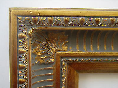 wide gold ornate hudson river ribbed cove portrait photo picture frame 16x20