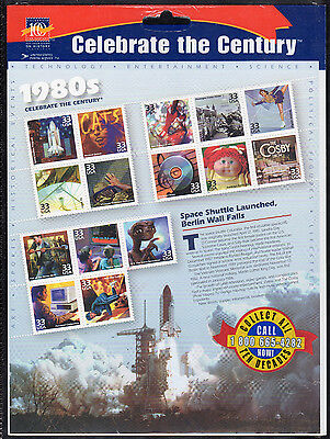 US 3188a-o @ (1999) MNH 33c - SHEET OF 15 - Celebrate the Century {1960's}