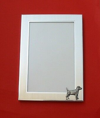 Patterdale Terrier Motif 6 x 4 Picture Photo Frame Father Mother Patterdale Gift