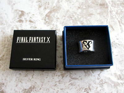 Final Fantasy SQUARE ENIX Japan Official Sterling Silver Ring FF X Tidus