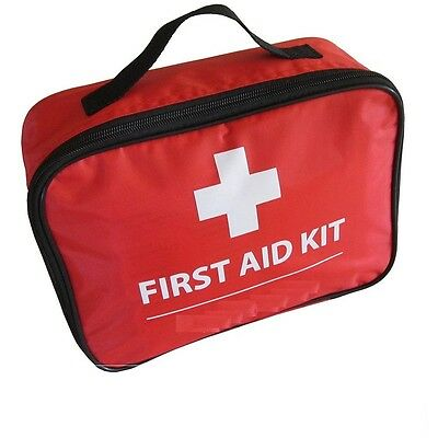 Travel First Aid Kit Car Emergency Home Camping Caravan Trekking Hiking-9400