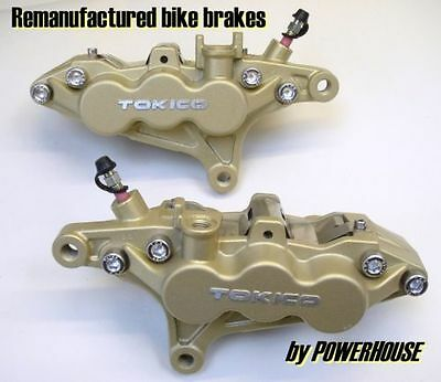 Kawasaki ZRX 1200 R front brake calipers refurbished exchange 2004 2005 2006