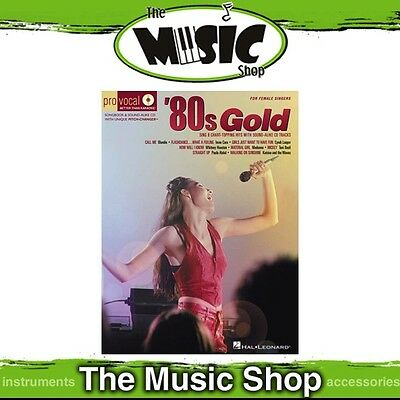 New '80s Gold Pro Vocal Women's Edition Book & CD - Volume 4 - 1980s