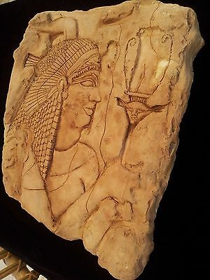 Egyptian Relief QUEEN ARSINOE II RELIEF Rare To Find, in excellent condition