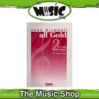 New John Brimhall's All Gold 2 Music Book for Easy Piano