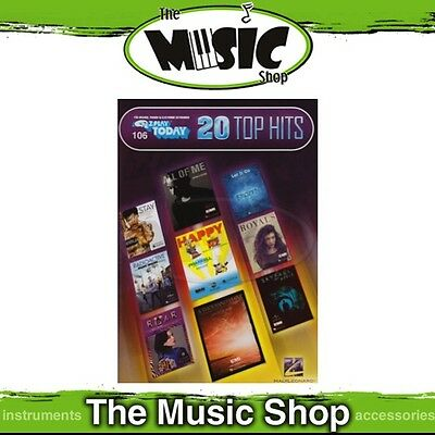 New EZ Play #106 20 Top Hits Piano Music Book - Easy Play