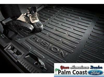 2006-2012 FORD FUSION BLACK RUBBER CARGO PROTECTOR MATS