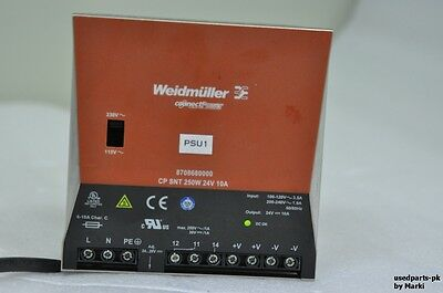 Weidmuller Connectpower 8708680000 Cp Snt 250W 24V 10A Power Supply