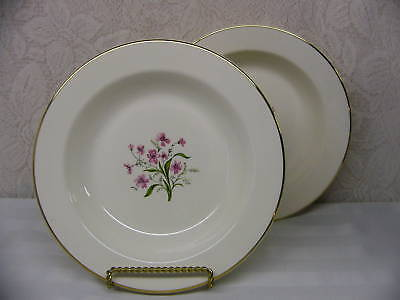 KNOWLES CHINA*SPRING SONG*2 SOUP/CEREAL BOWLS
